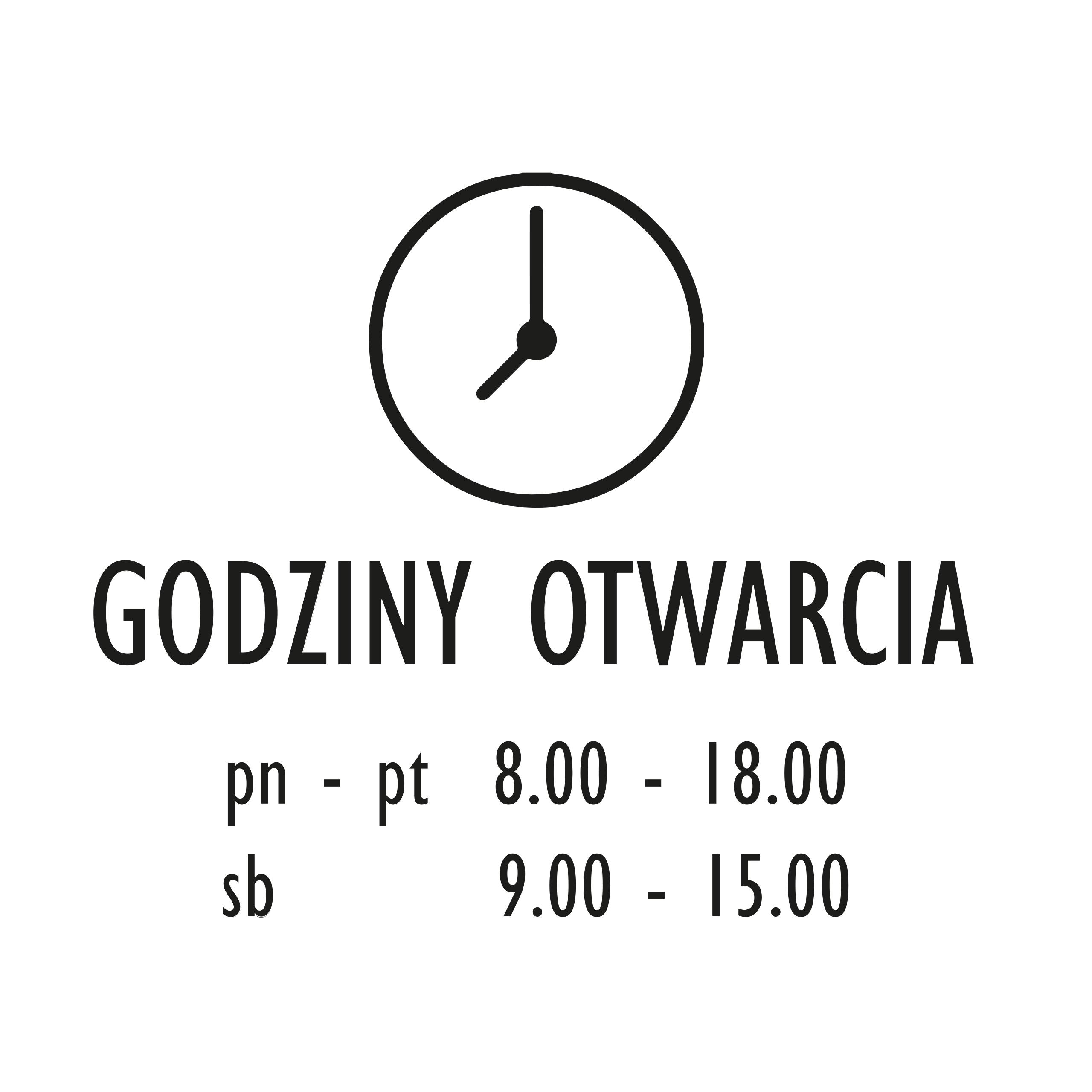 36d94aa559c0ab Godziny Otwarcia na Sklep szybę Naklejka Czynne !! 6719930548 - Allegro.pl