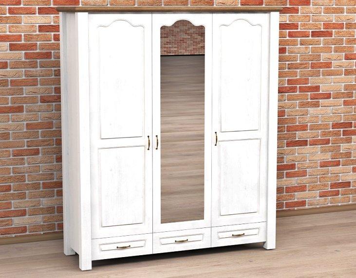 деревянная шкаф 3 -двери - разные Цвета-НОВИНКА
