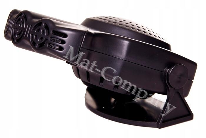 Обогреватель автомобильный вентилятор нагреватель 12в 160вт (фото 3)   Автозапчасти из Польши