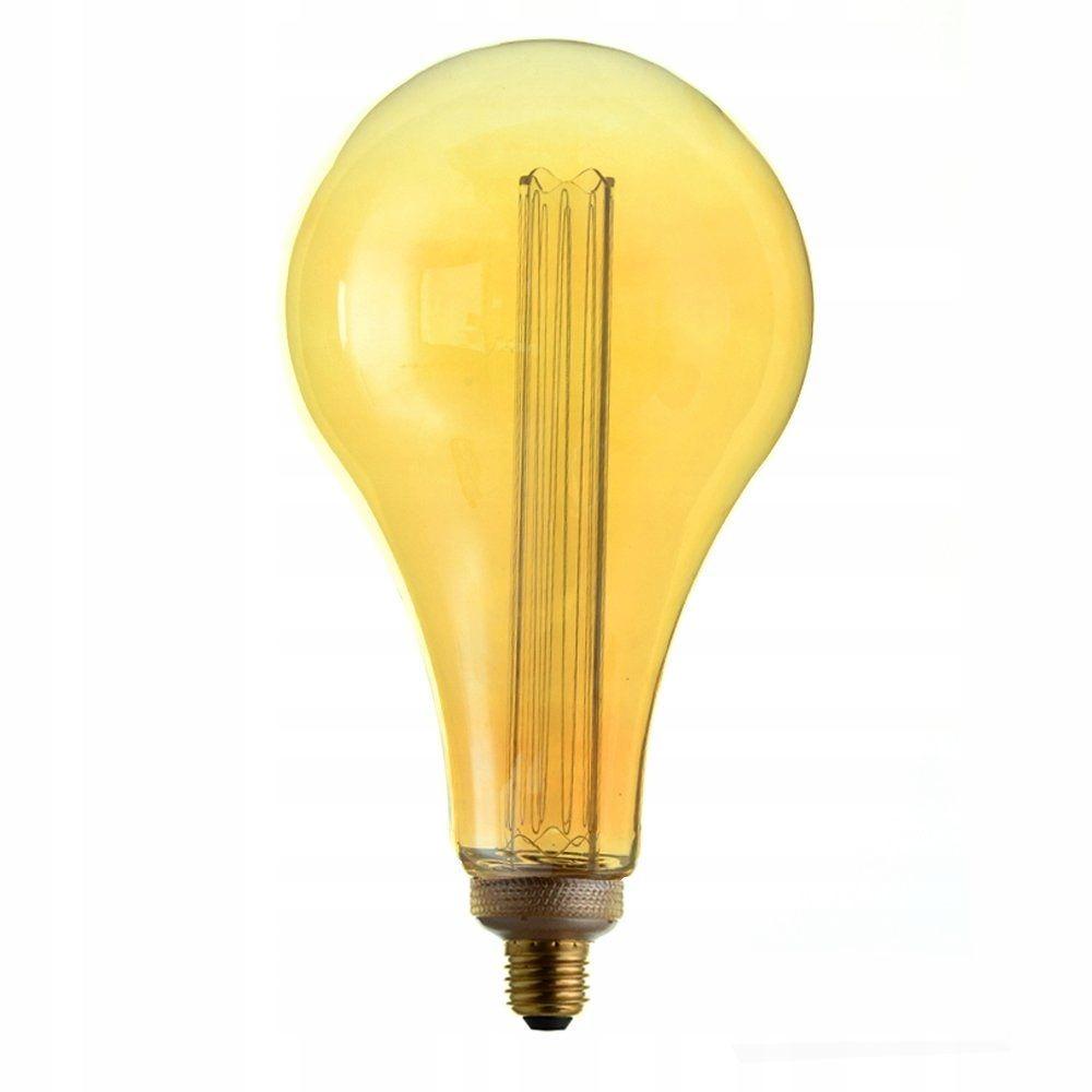 Žiarovka Edison E27 amber LED 2.8 V retro