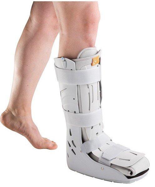 AIR STEP WALKER wysoki but ortopedyczny pompowany