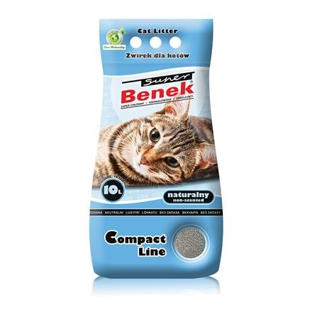 Super Benek Compact 10L Żwirek dla Kota