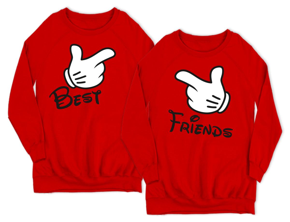 Bluzy Dla Przyjaciolek Best Friends Forever Bff 7261934068 Allegro Pl