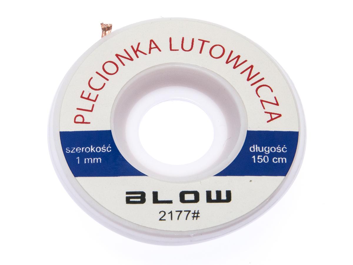 Плетенка, лента роз - паяльная 1,0 мм, 1,5 м