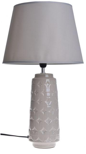 Nočného lampa béžová keramické tienidlo stojace