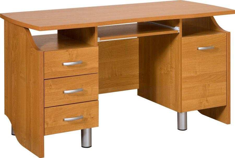 Pracovný Stôl COMBI 140 cm - 7 farieb SONOMA Jelša Mozgov
