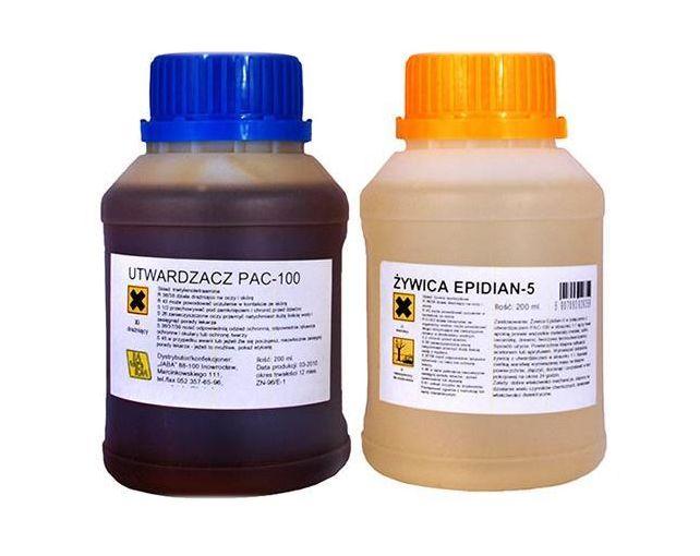 Mocny klej epoksydowy żywica Epidian 5+PAC100 Wwa