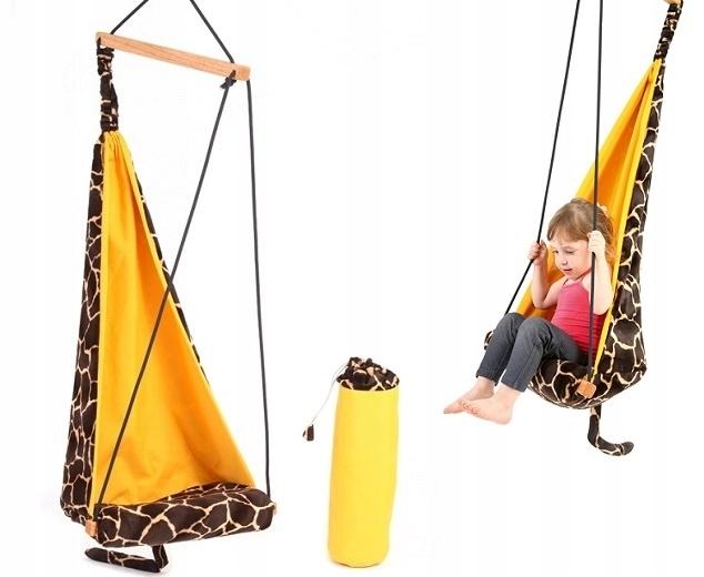 BABY SWING ZÁVESNÉ KRESLO-Žirafa