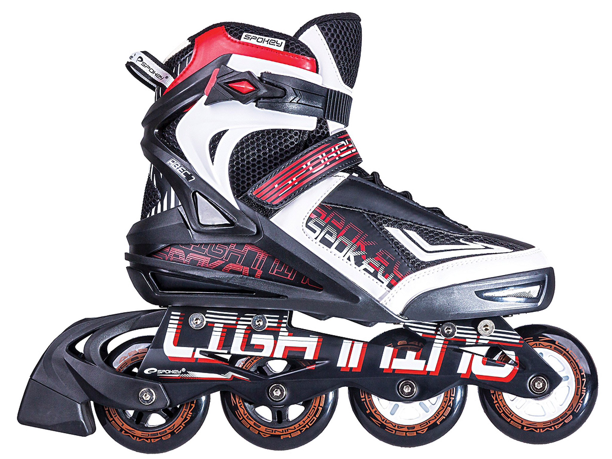 Pánske voľnočasové korčule Spokey Rubber ABEC-7- 41