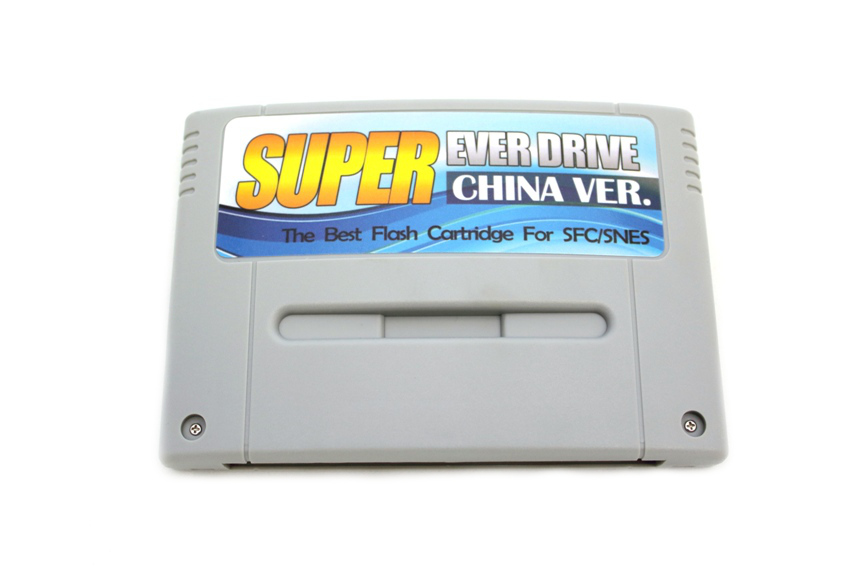 Item Recorder Flash Card for Nintendo SNES