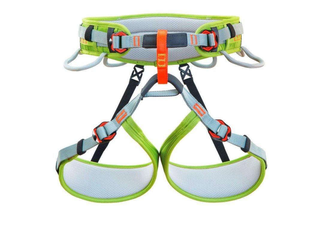 Technológia horolezeckej techniky Assent Grey / Green L-XL