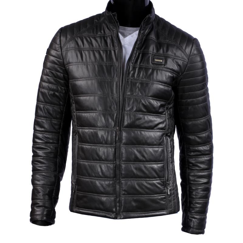 5ffd8978c8c Куртка кожаная мужская стеганая dorjan lui450 1 xl купить в украине ...