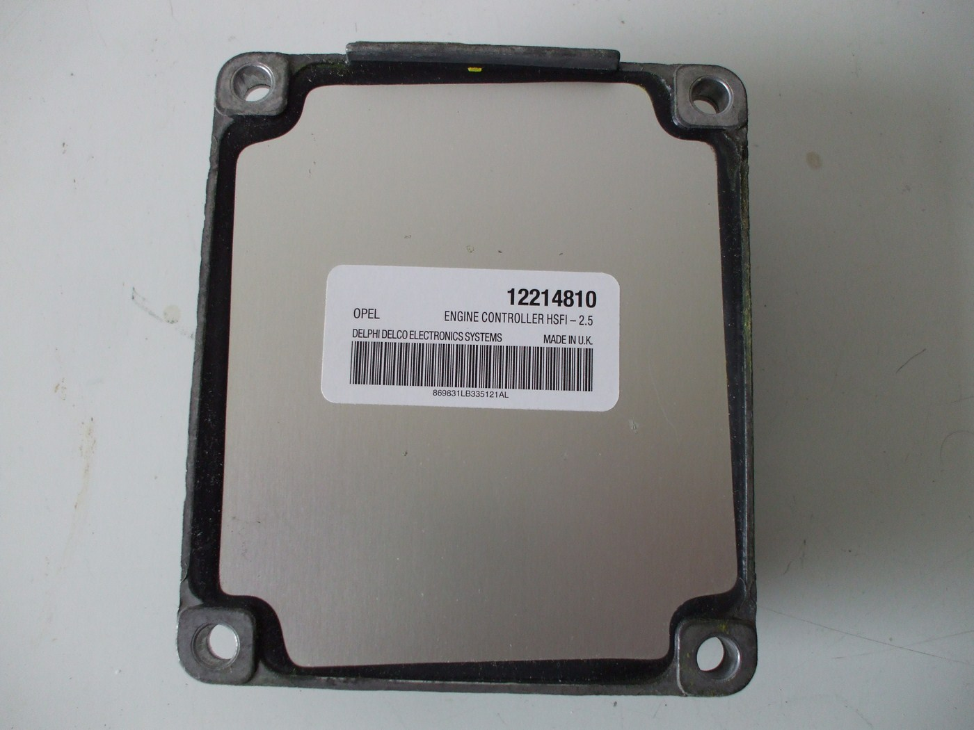 opel meriva компьютер 12214810 выход
