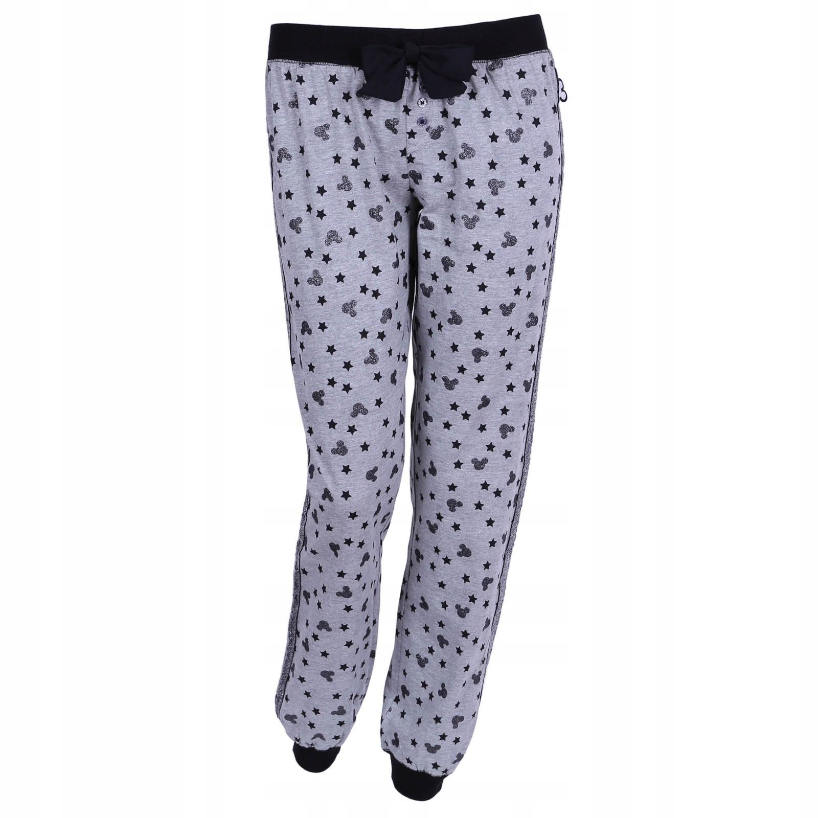 Szare spodnie Disney Mickey Mouse 34-36