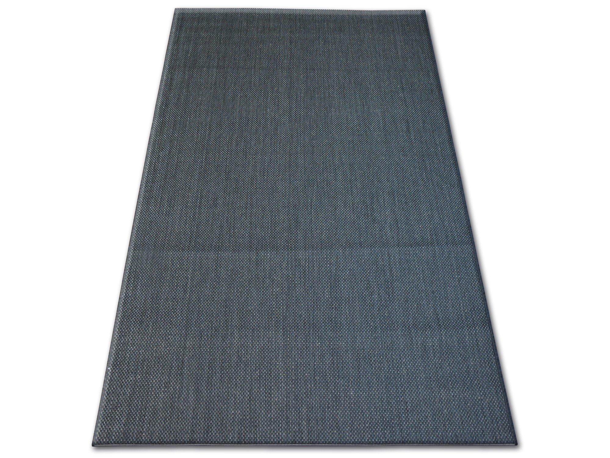 A SISAL koberec 120x170 HLADKÉ čierne #B381