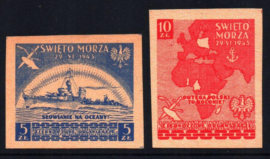Выпуск Лондонский. Праздник Моря 1943 доставка товаров из Польши и Allegro на русском
