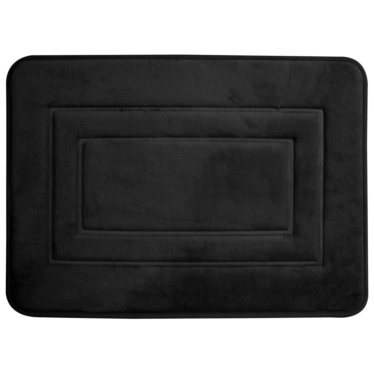 Super mäkká kúpeľňa koberec 40x60 San black