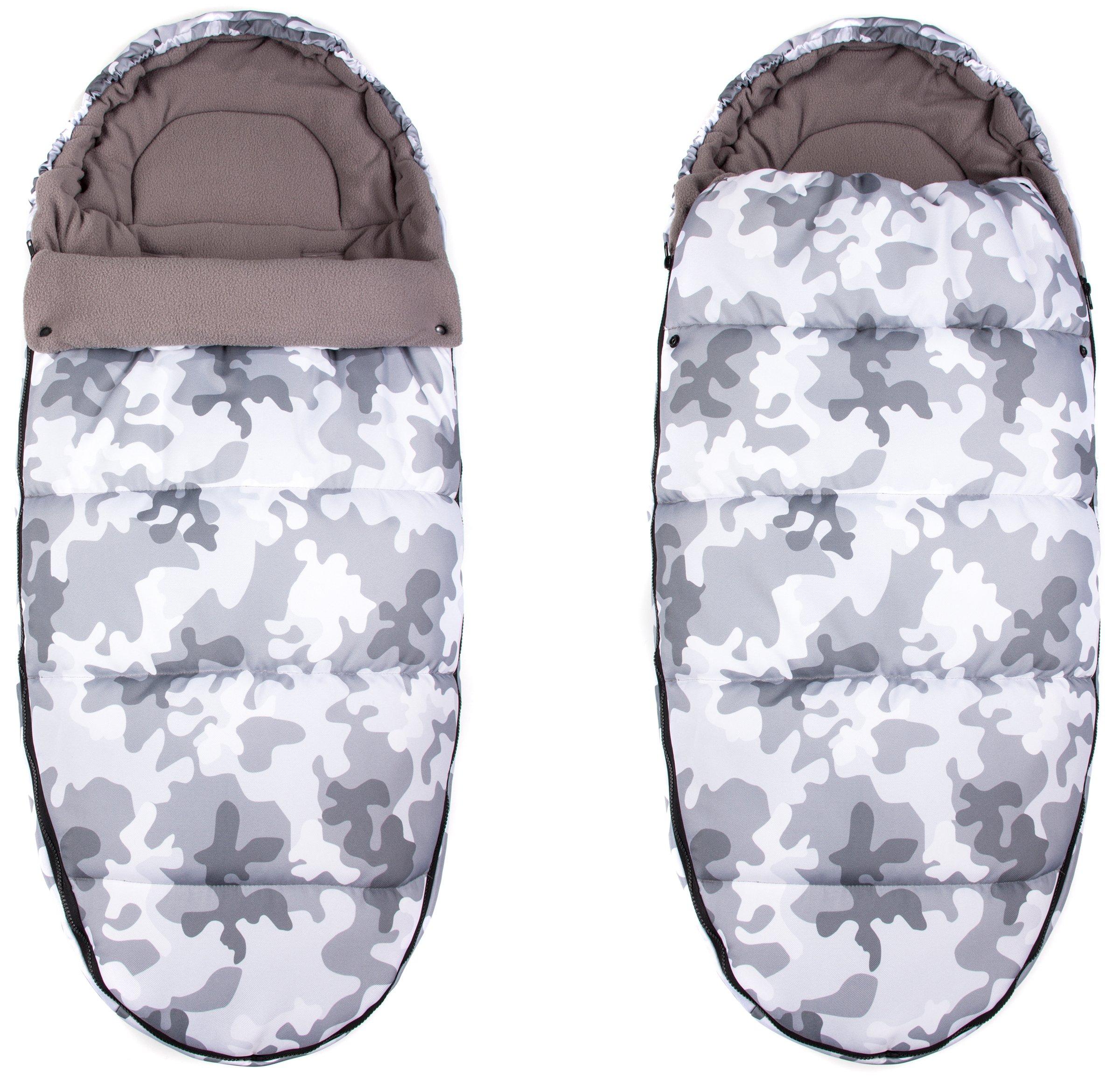 4v1 DVOJITÝ IZOLOVANÝ FLEECE FOOTMUFF 105 CM