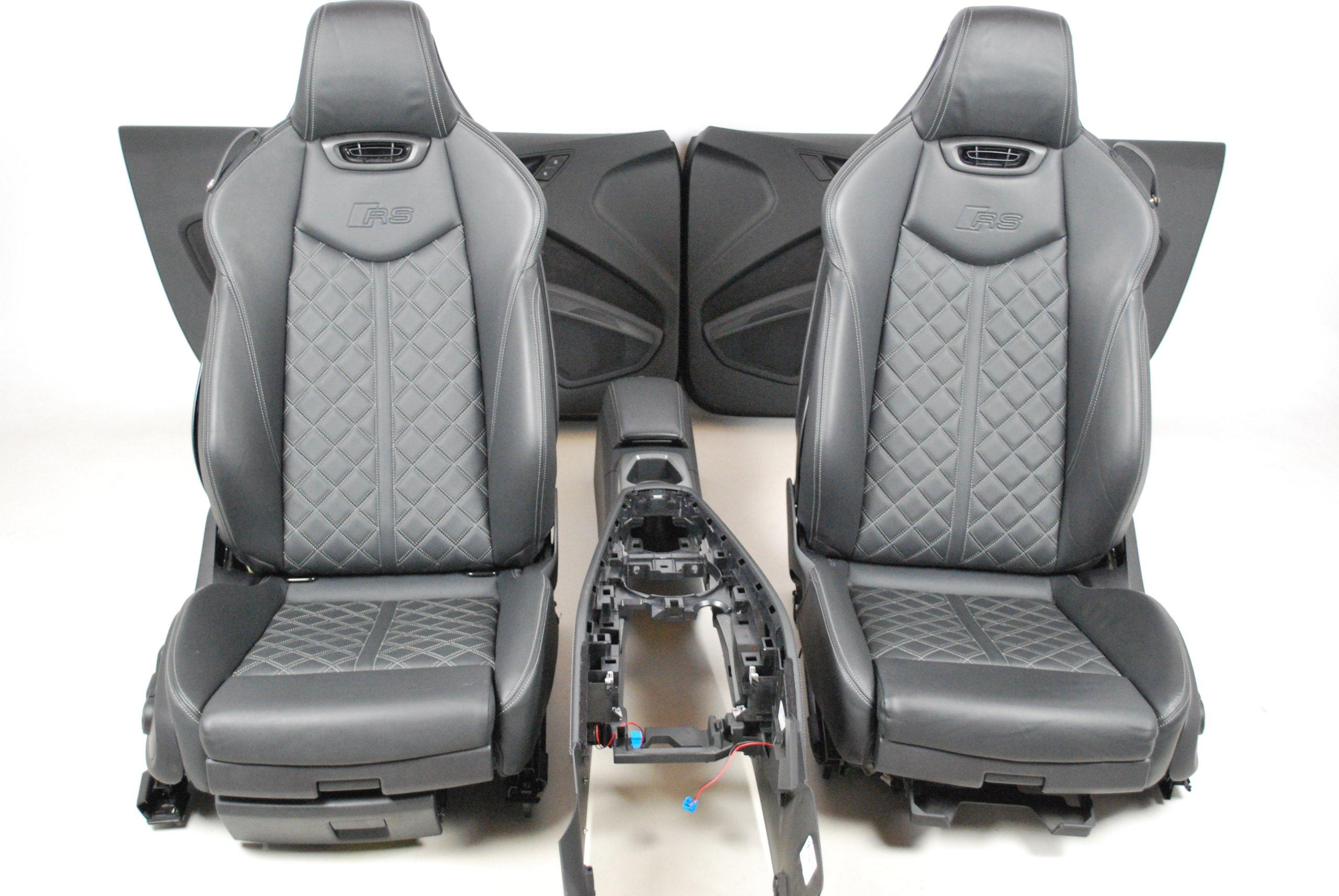 Fotele Przod Skora Audi Tt Rs 8s7 Cabrio Myslowice Allegro Pl