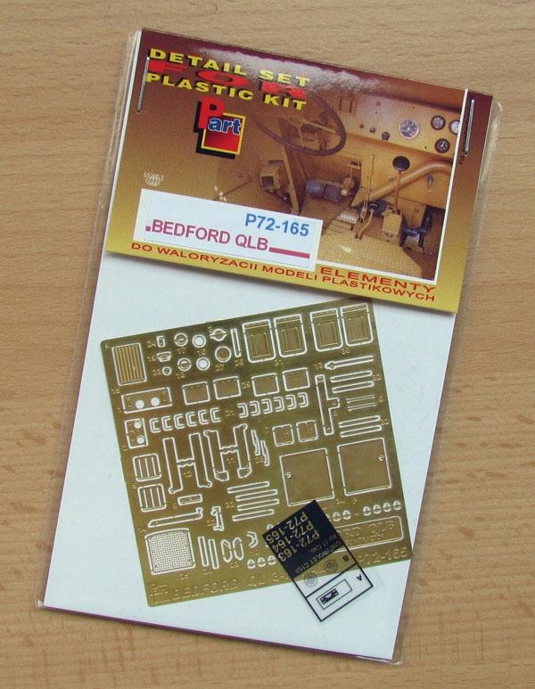 Купить Part P72-165 1/72 Бедфорд QLB (IBG) на Otpravka - цены и фото - доставка из Польши и стран Европы в Украину.