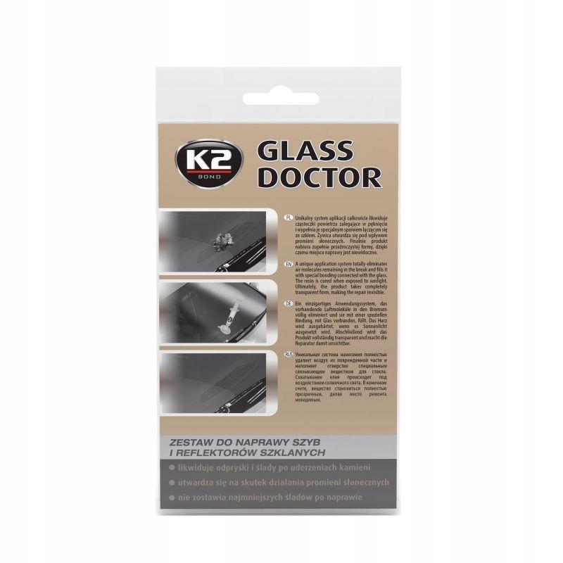 K2 GLASS DOCTOR НАБОР ДЛЯ РЕМОНТА СТЕКОЛ B350