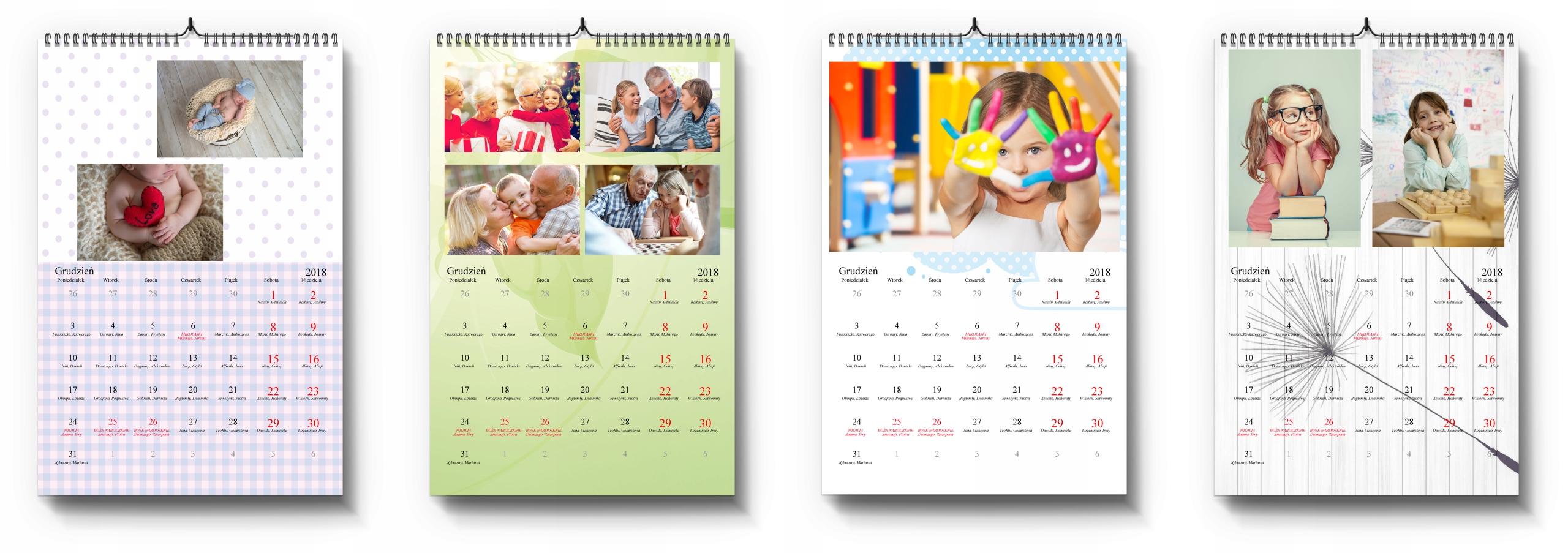 Фото-Календарь А3+ 13str с Вашими фотографиями Дате