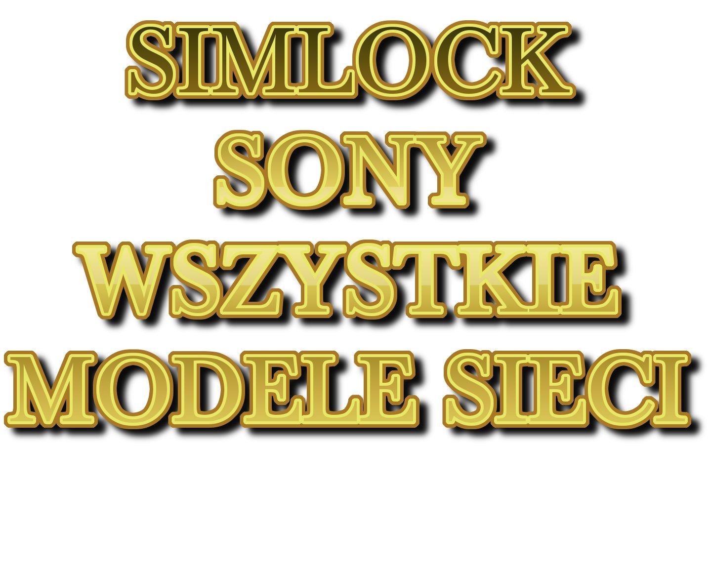 Item UNLOCK SONY XPERIA WORD UK O2 EE EACH MODEL !!!