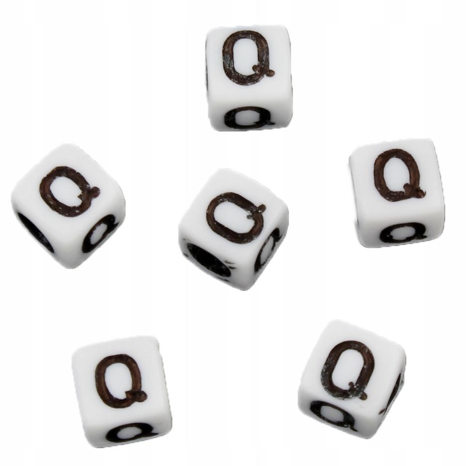 alfabet, litera q spotyka się ponownie o 40
