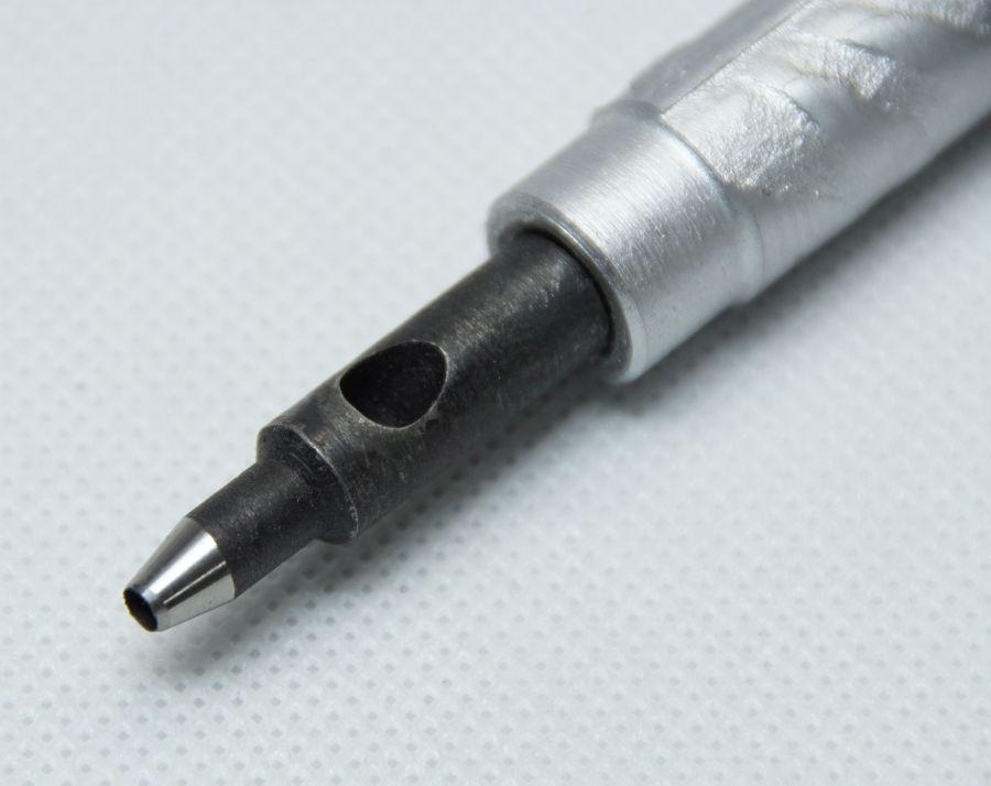 Dierovač, ručné koliesko s rukoväťou - 2,5 mm