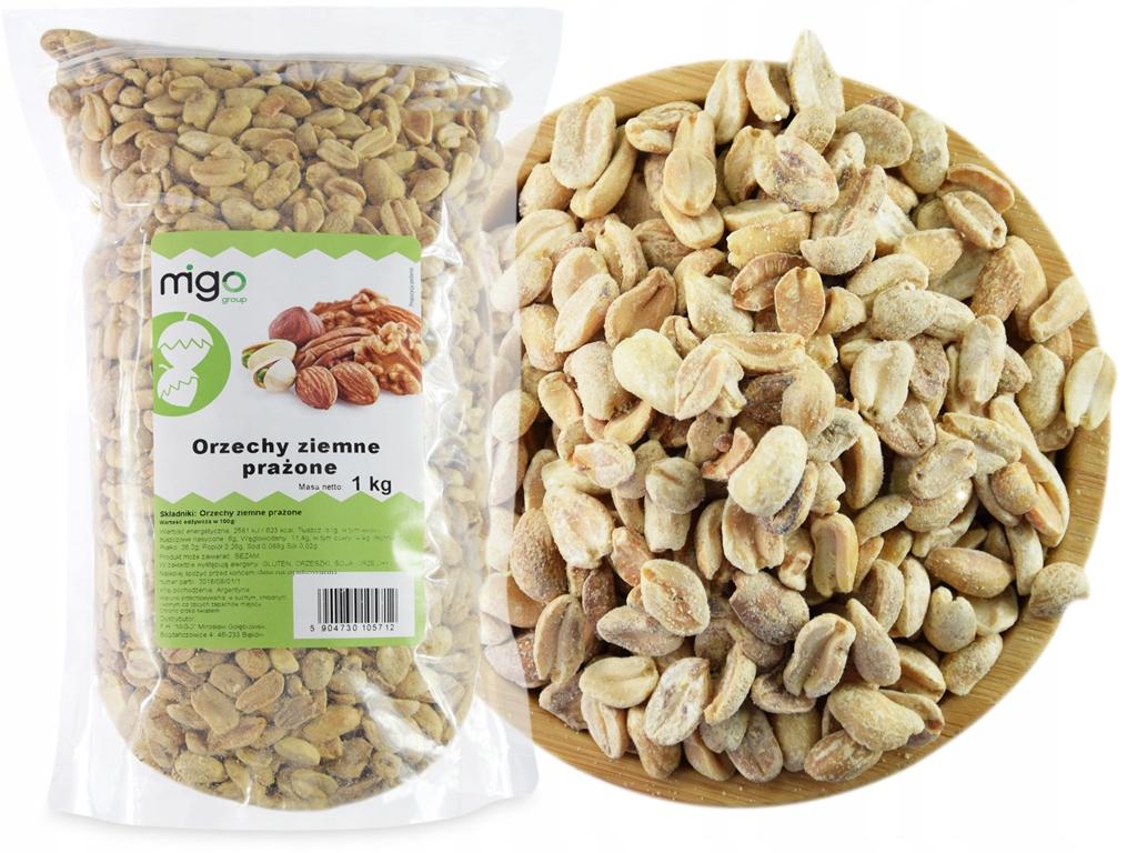 Item ARACHIDOWE roasted peanuts 1kg - MIGOgroup