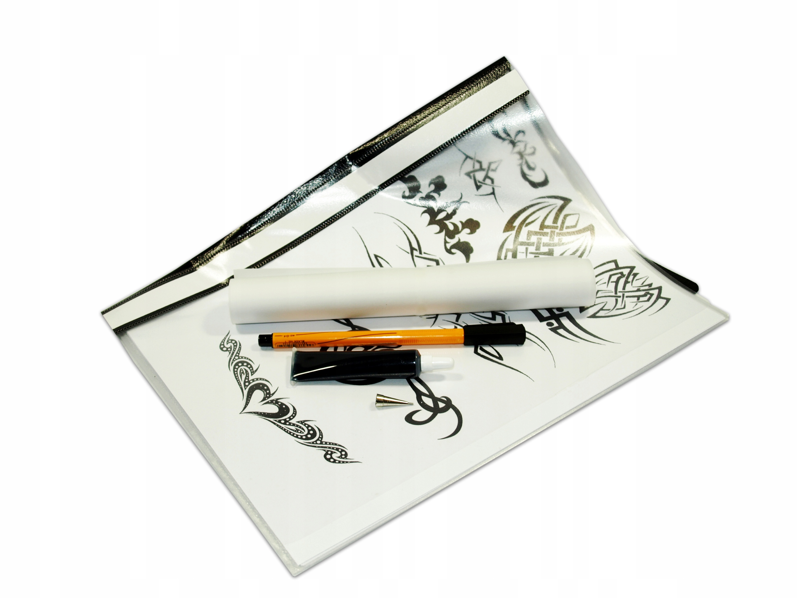 Zestaw Jagua Katalog Wzorów Tatuaż Jak Henna