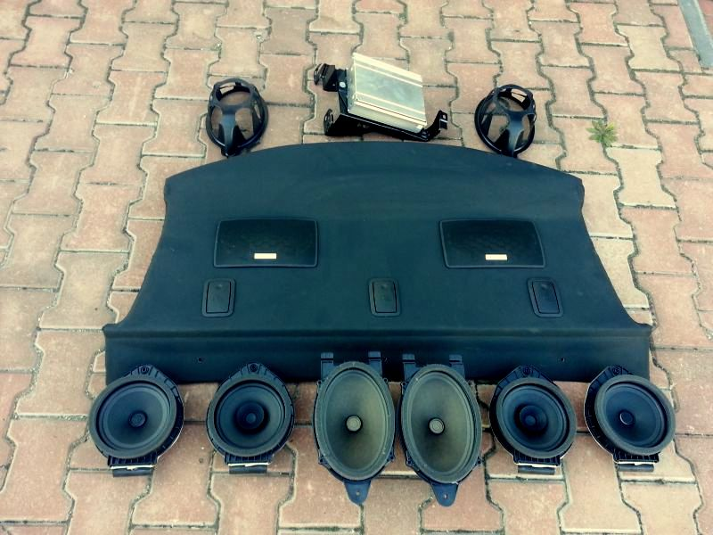 звуковая система комплект infinity opel insignia седан