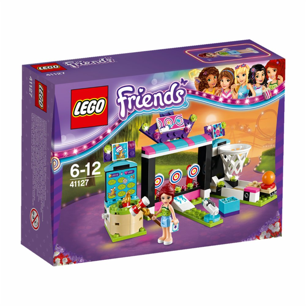 Lego Friends Automotive v zábavnom parku 41127