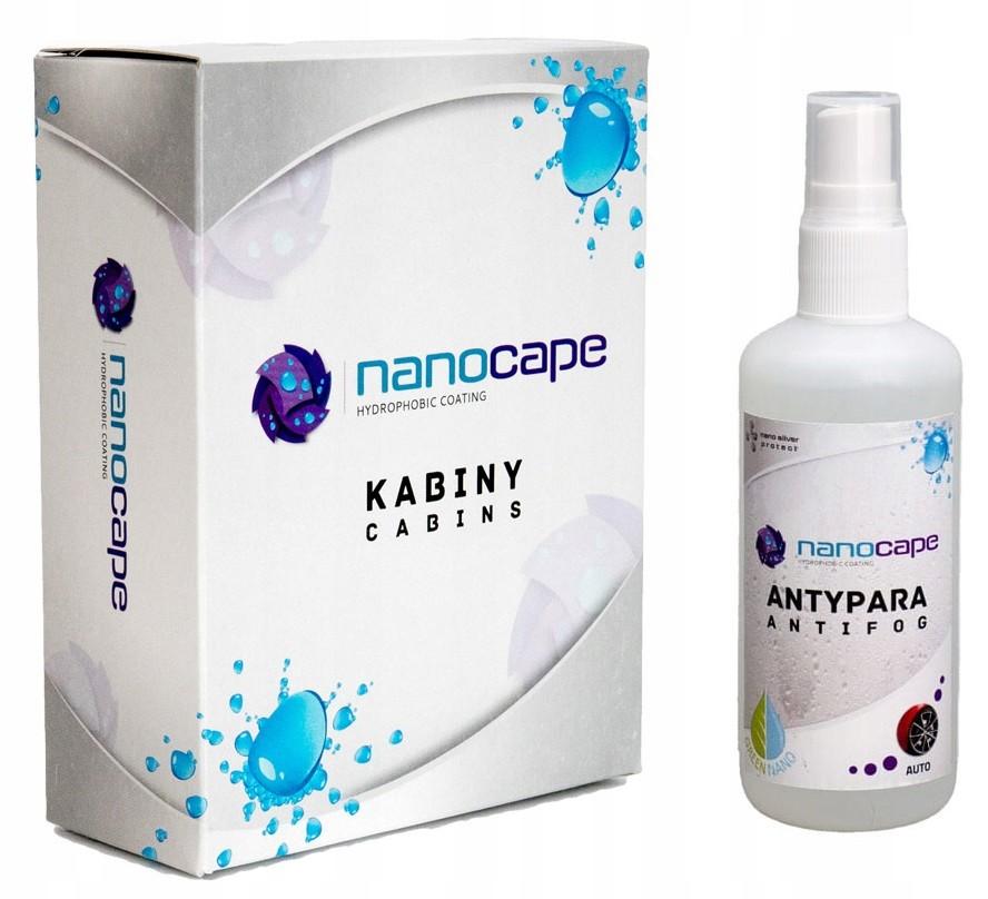 NANOCAPE sprchy + ANTYPARA