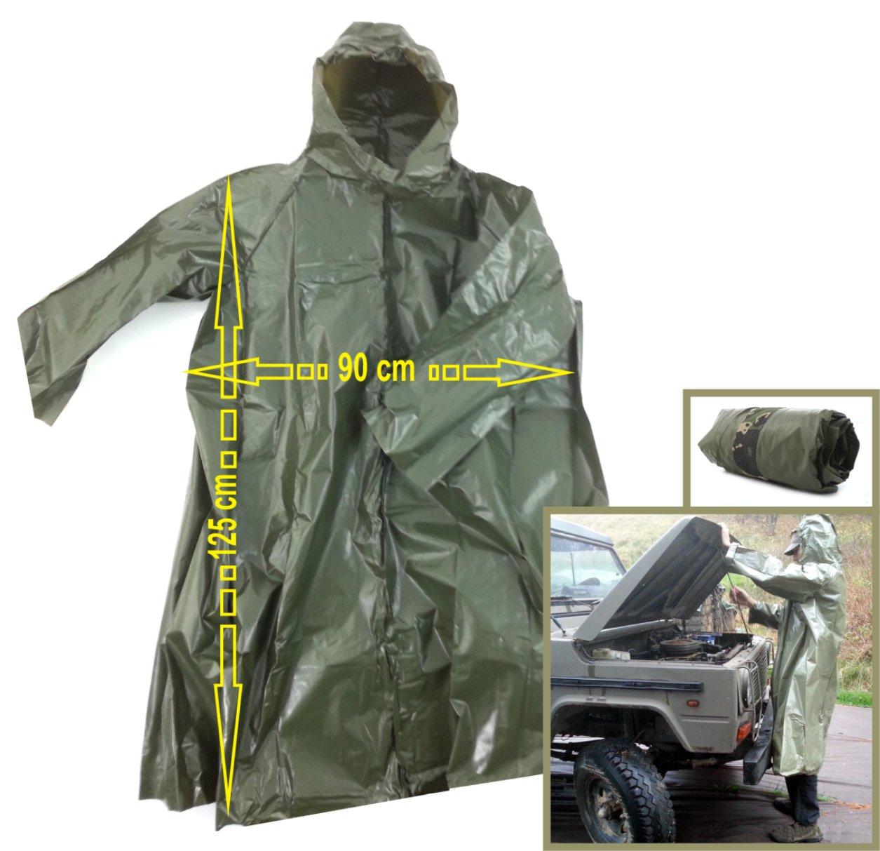 Pôvod, vojenský dažďový plášť