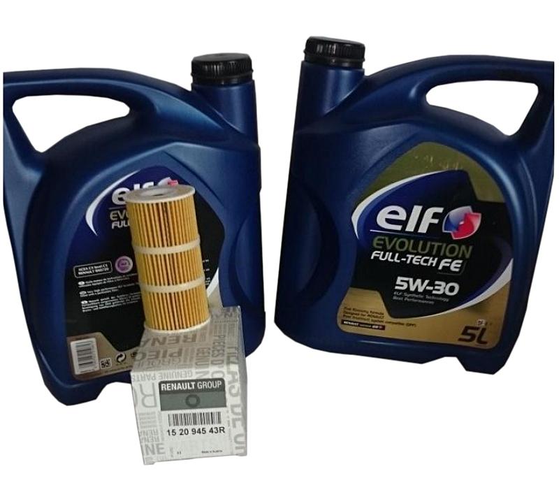 фильтр масла + масло к fap renault master 2 3dci