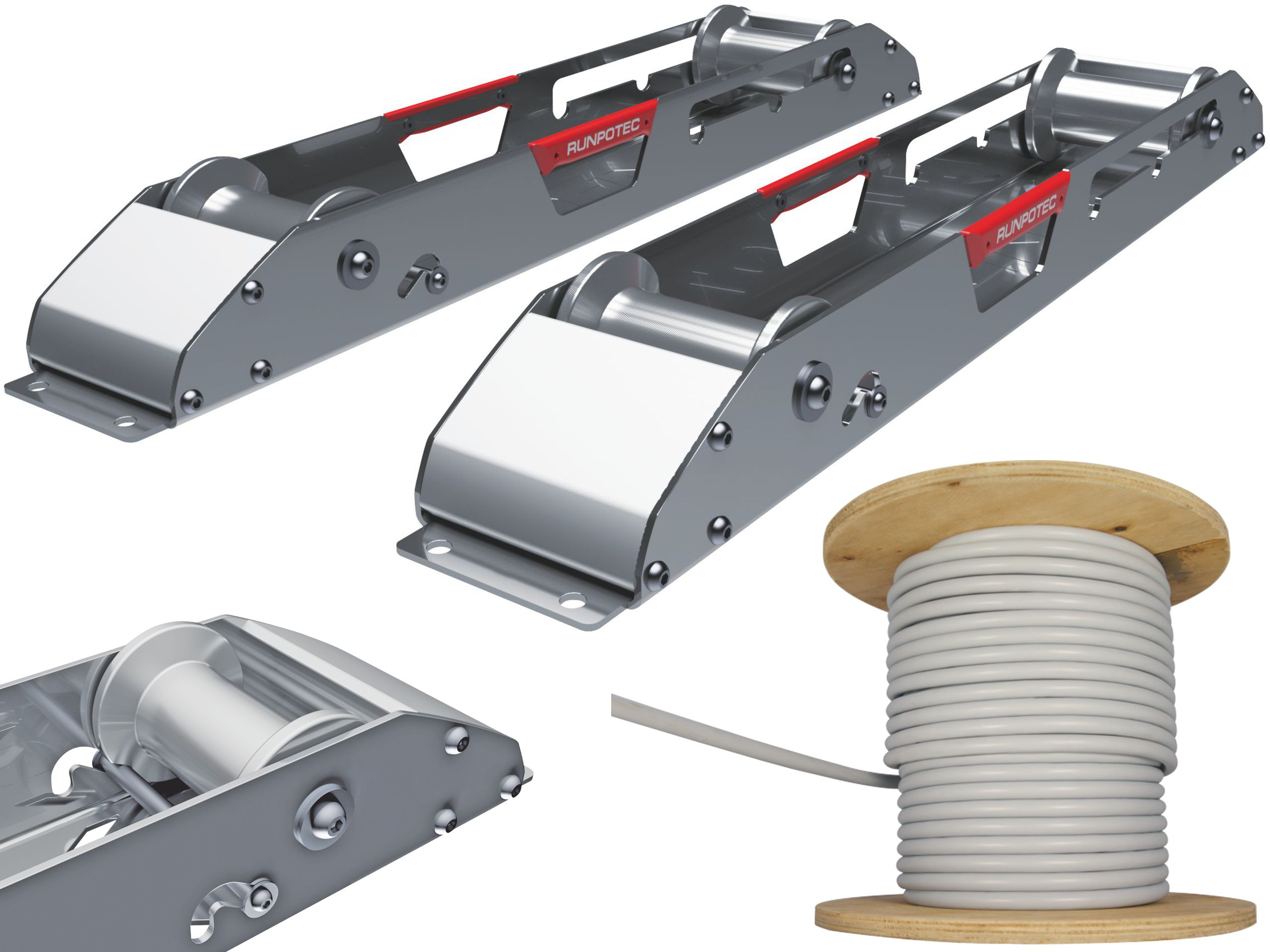 Rozwijak Stojak do odwijania kabli z bębnów 1700kg
