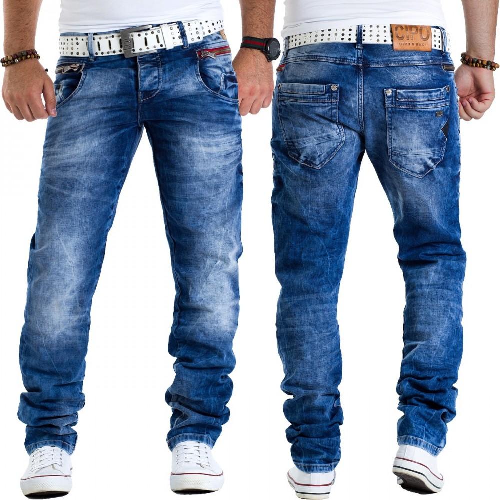 Купить джинсовая БРЮКИ слим WANTED CIPO BAXX CD394 _3034 на Eurozakup - цены и фото - доставка из Польши и стран Европы в Украину.
