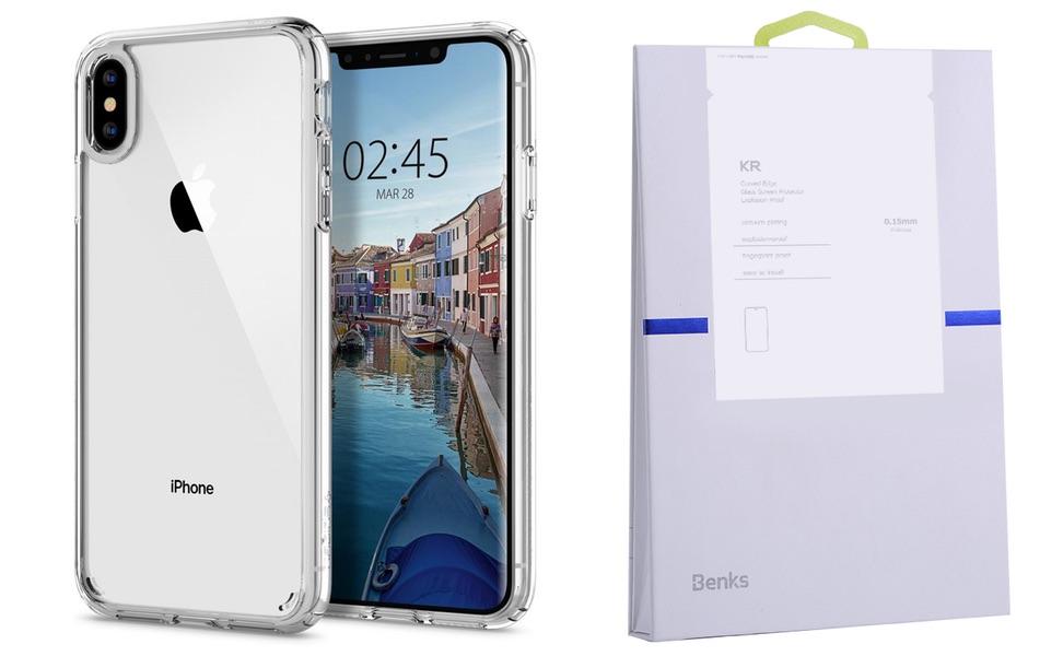 Etui Do Iphone Xs Max Spigen Ultra Hybrid Szkło Kr