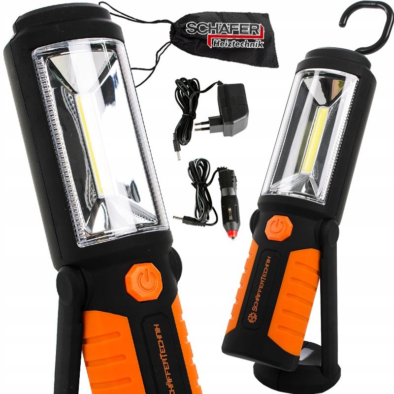 Лампа для фонарика COB LED li-lon