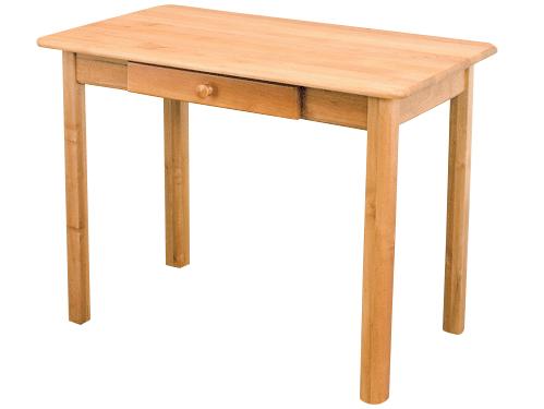 MASÍVNY stôl 100x55 so zarážkou kuchynskej linky, bar