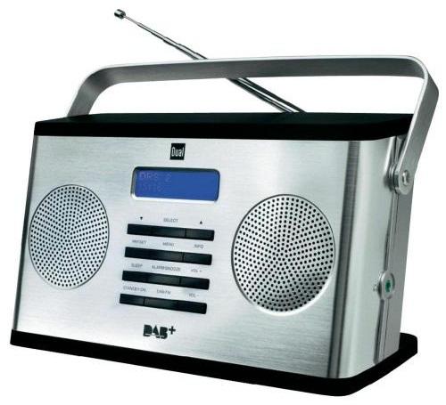 Digitálne stereo rádio DAB + / DAB / FM DUAL DAB 10S