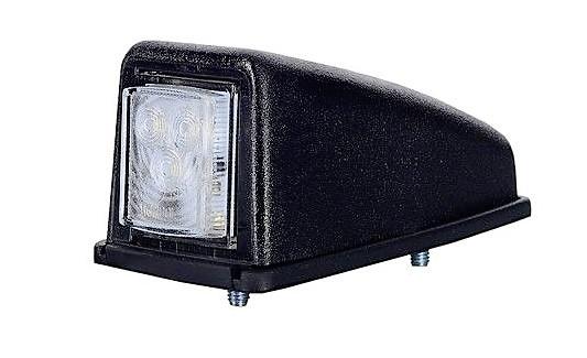 лампа габаритный угловая крыши led 1224v белая