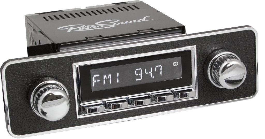 Rádio Retro Sound MP3 USB VW Golf 1 / Caddy 1 MkI