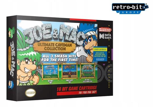 SNES Retro-bitové Joe&Mac Ultimate Collection