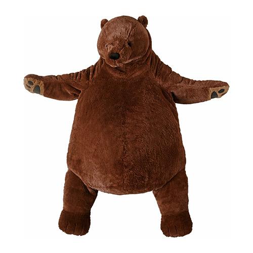 IKEA mäkká hračka medveď DJUNGELSKOG 100 cm kurier24