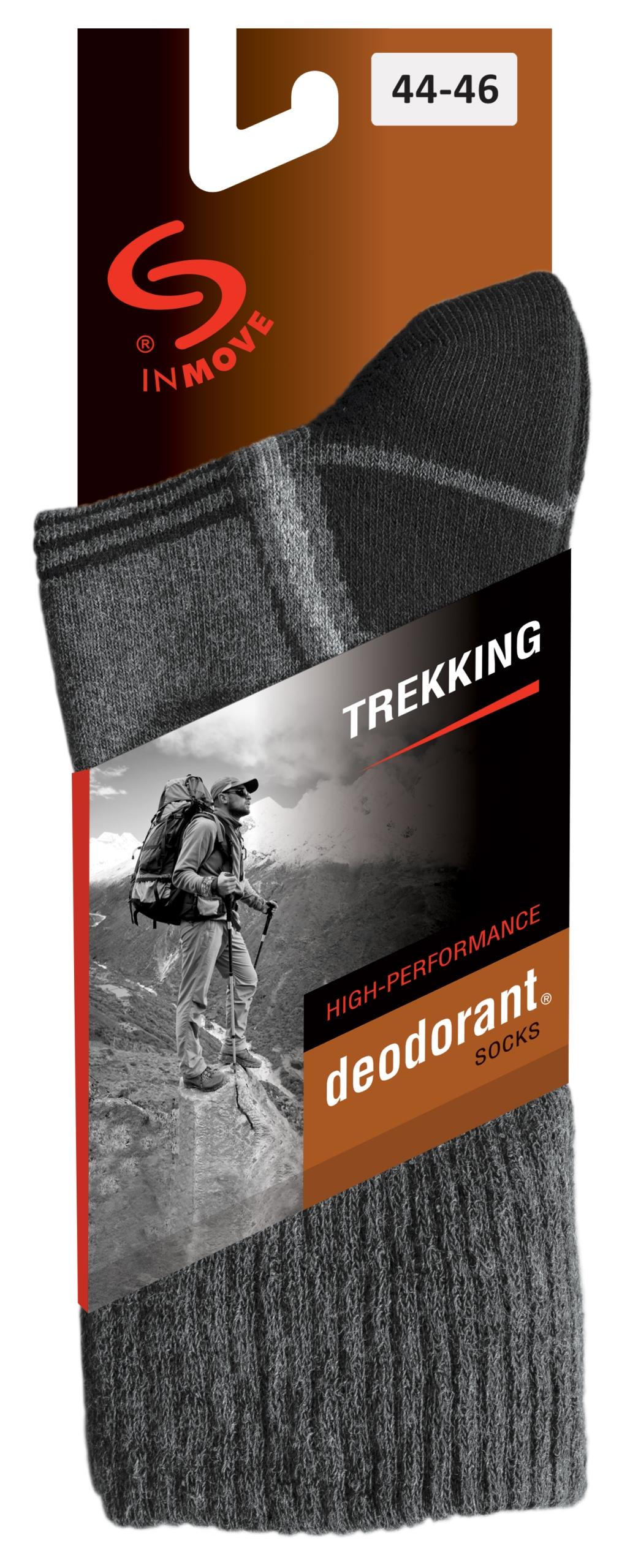 JJW teplé treking ponožky deodorant č. 38-40