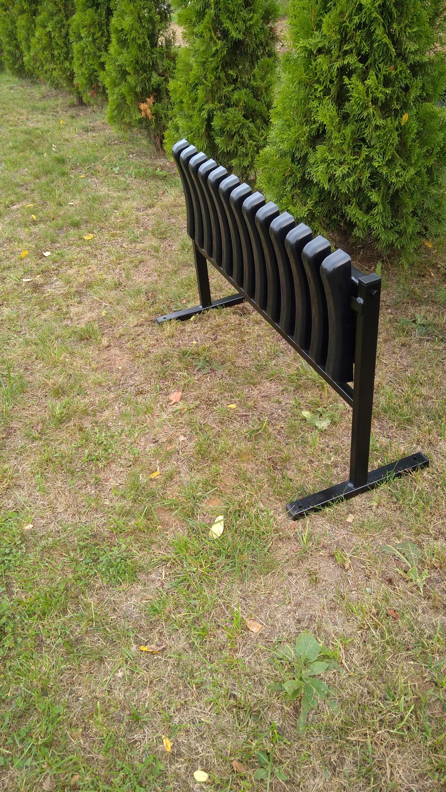 lavička na cintorín, priskrutkovaná na svorníku, SPOĽAHLIVÝ Kód výrobcu W2 / 82