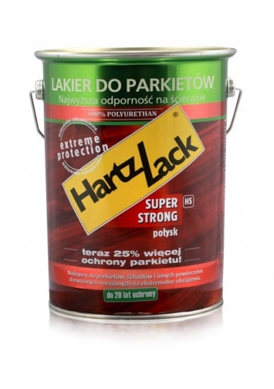 ЛАК ПАРКЕТА HartzLack супер STRONG 0,75? блеск