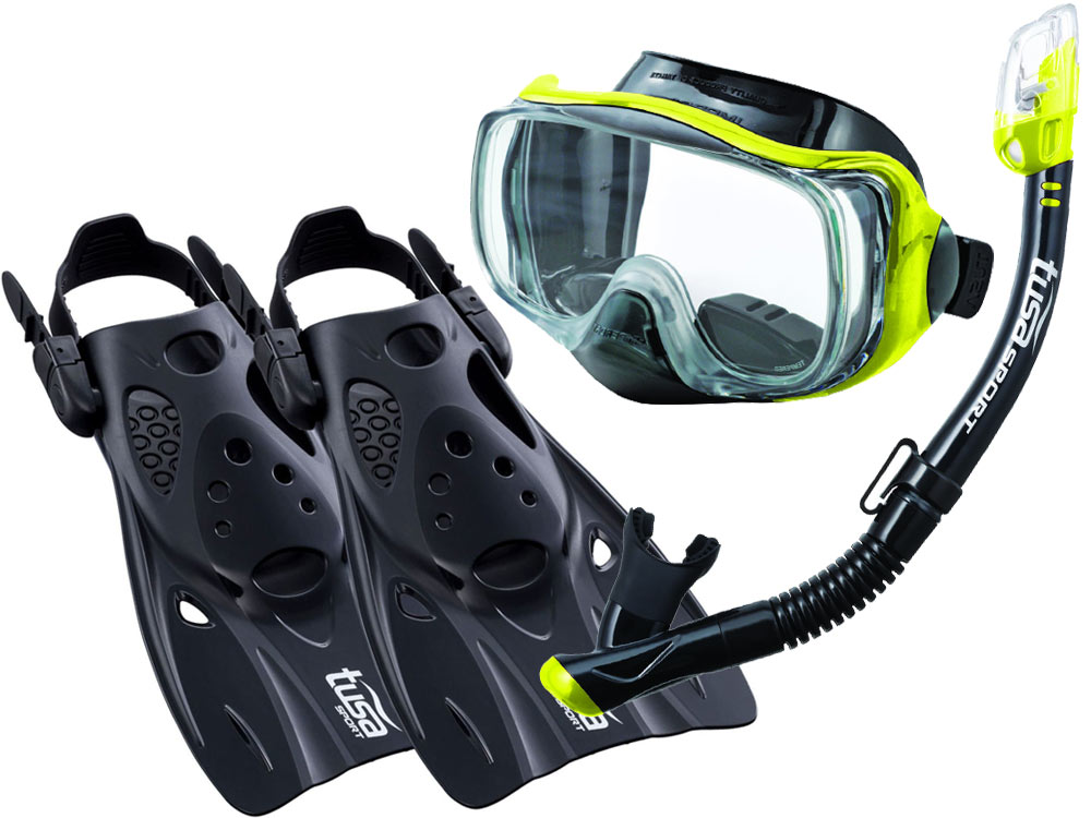 NASTAVIŤ TUSA IMPREX maska, PLUTVY, šnorchel UF0103 42-49